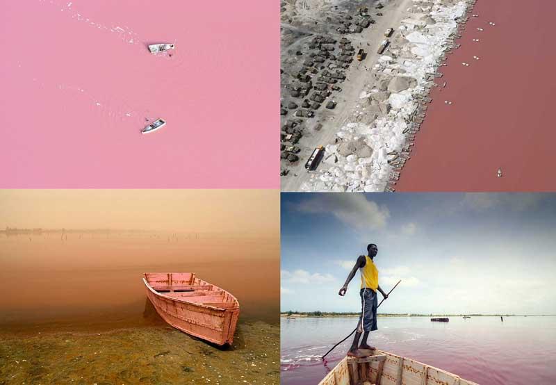 BIGPIC2211 Розовое озеро в Сенегале