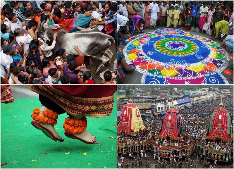 Праздник Ратха-ятра вИндии