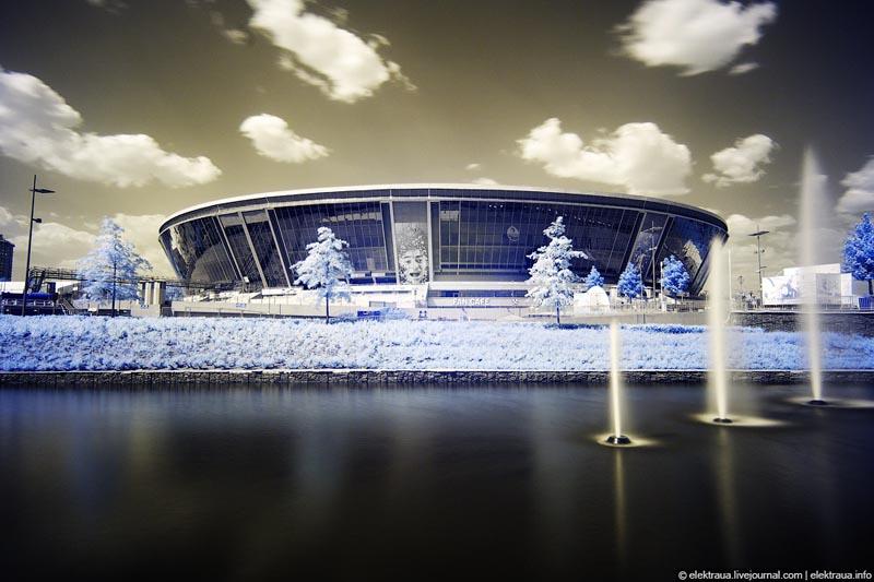 Донецкий стадион «Донбасс арена»