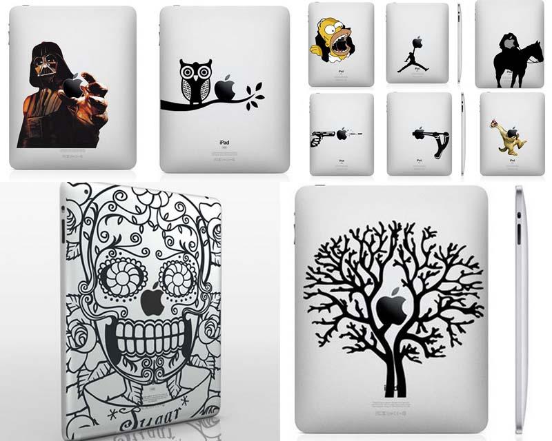 33 креативных наклейки на вашiPad