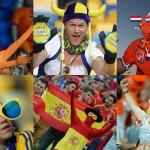 Горячие фаны Евро-2012