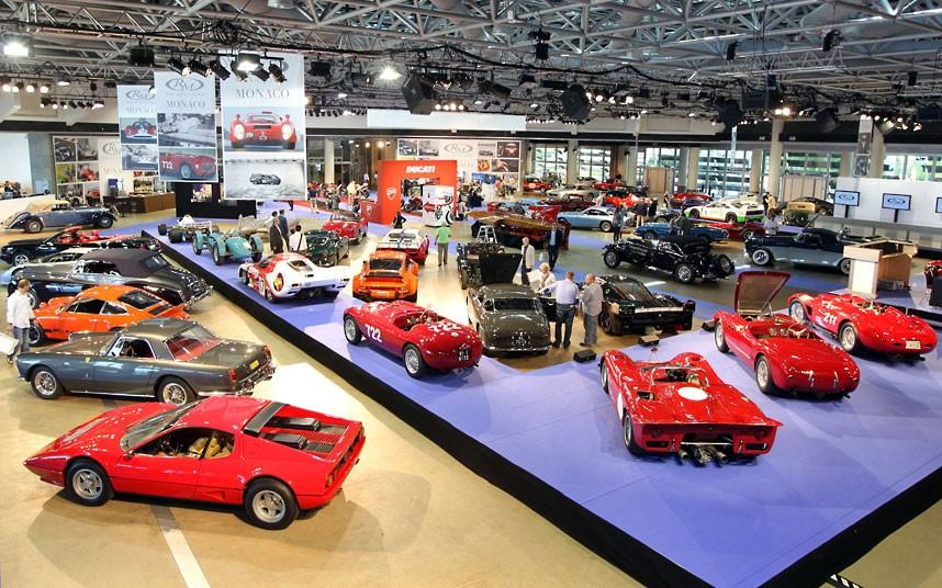 GF Уникальные автомобили и суда на аукционе в Монако