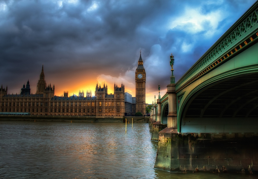 HDR 7 HDR фотография от лондонского мастера Майкла Мерфи