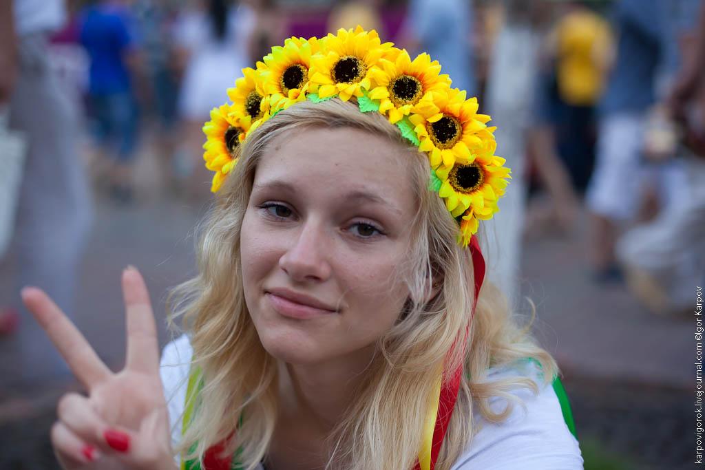 IMG 6913 Болельщицы на матче Украина Швеция
