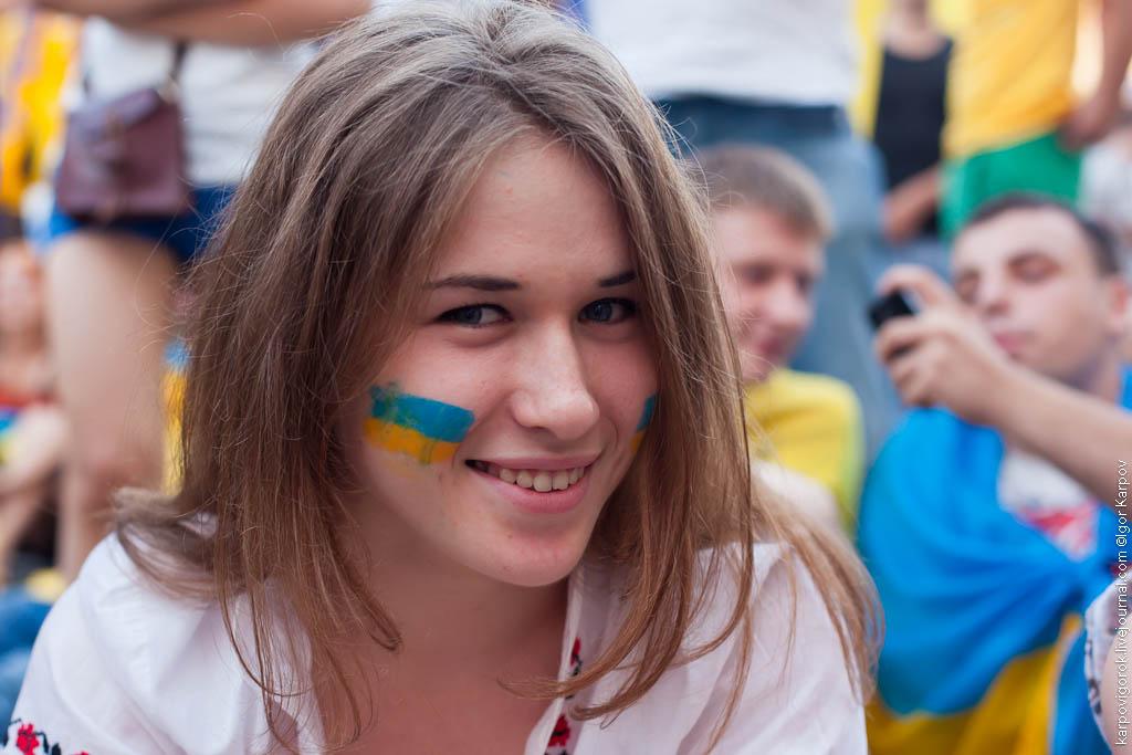 IMG 6921 Болельщицы на матче Украина Швеция