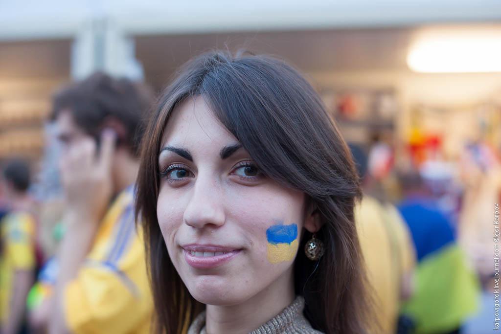 IMG 6967 Болельщицы на матче Украина Швеция