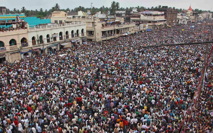 Ratha Yatra1 Праздник Ратха ятра в Индии