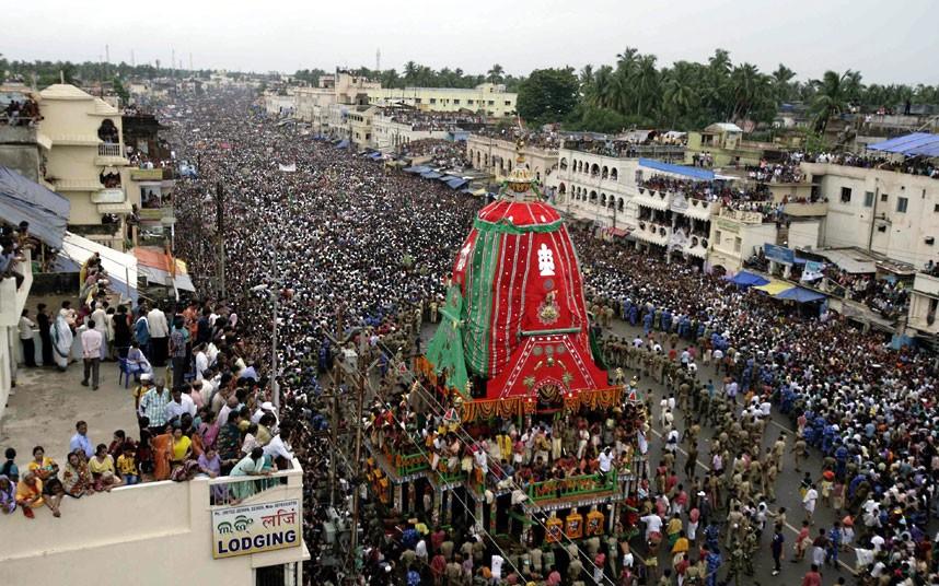 Ratha Yatra11 Праздник Ратха ятра в Индии