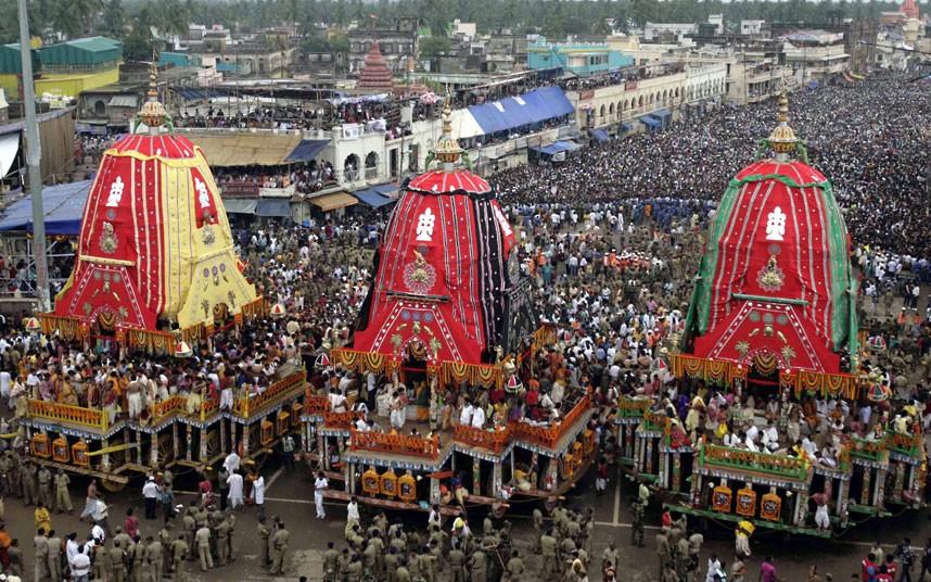 Ratha Yatra12 Праздник Ратха ятра в Индии