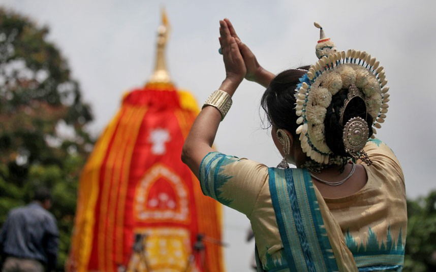 Ratha Yatra14 Праздник Ратха ятра в Индии