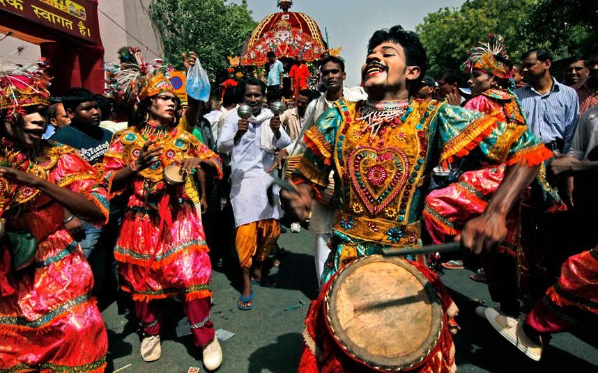 Ratha Yatra15 Праздник Ратха ятра в Индии