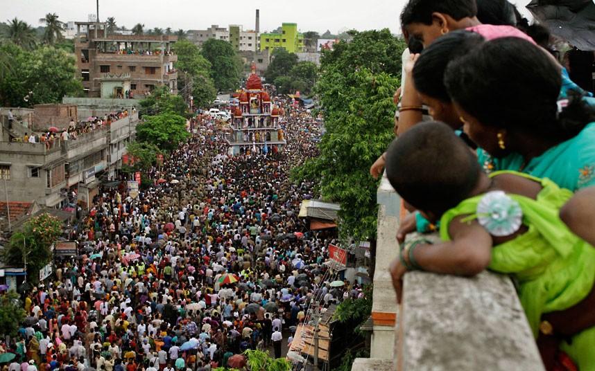 Ratha Yatra6 Праздник Ратха ятра в Индии