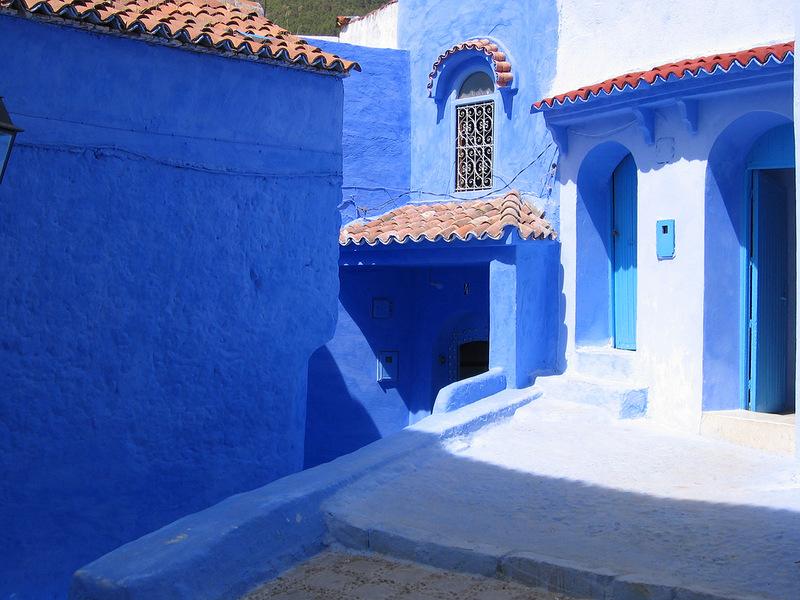 blue 1 Голубой город Шефшауен