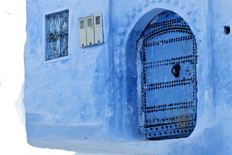 blue 13 Голубой город Шефшауен