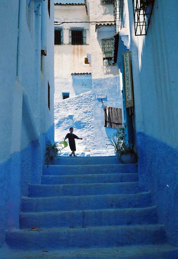 blue 16 Голубой город Шефшауен