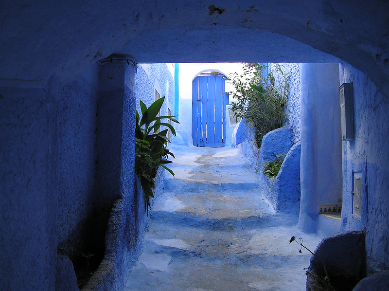 blue 17 Голубой город Шефшауен
