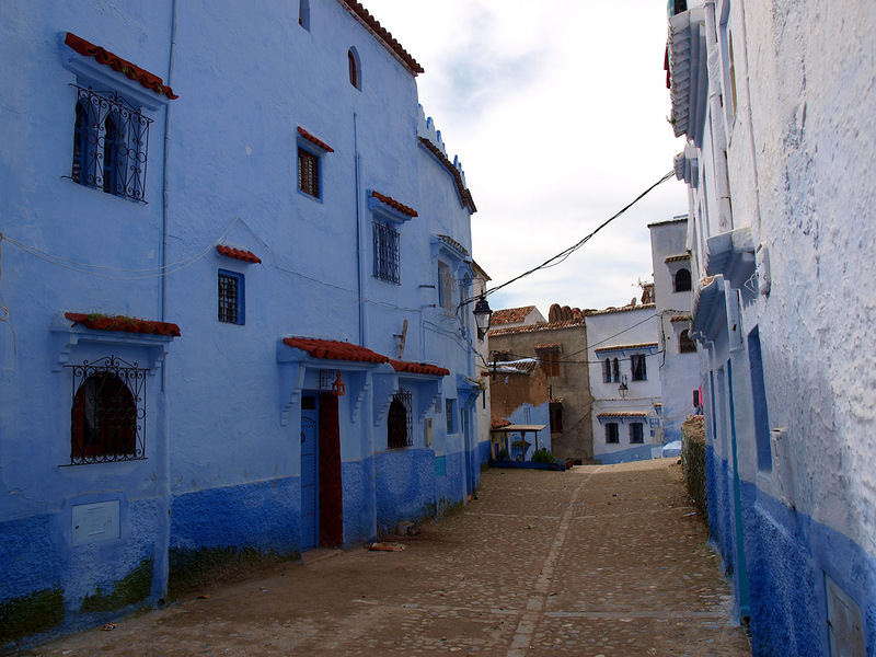 blue 28 Голубой город Шефшауен