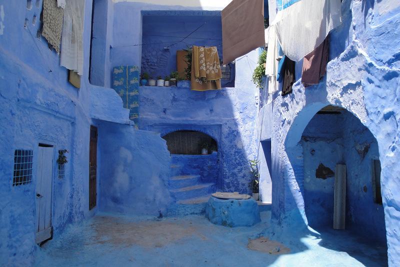 Голубой город Шефшауен Blue-33