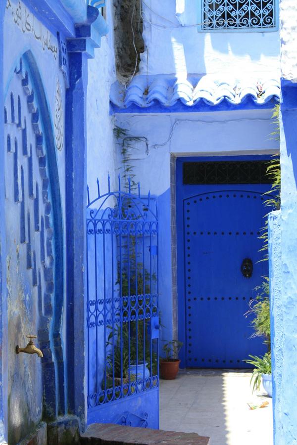 blue 35 Голубой город Шефшауен