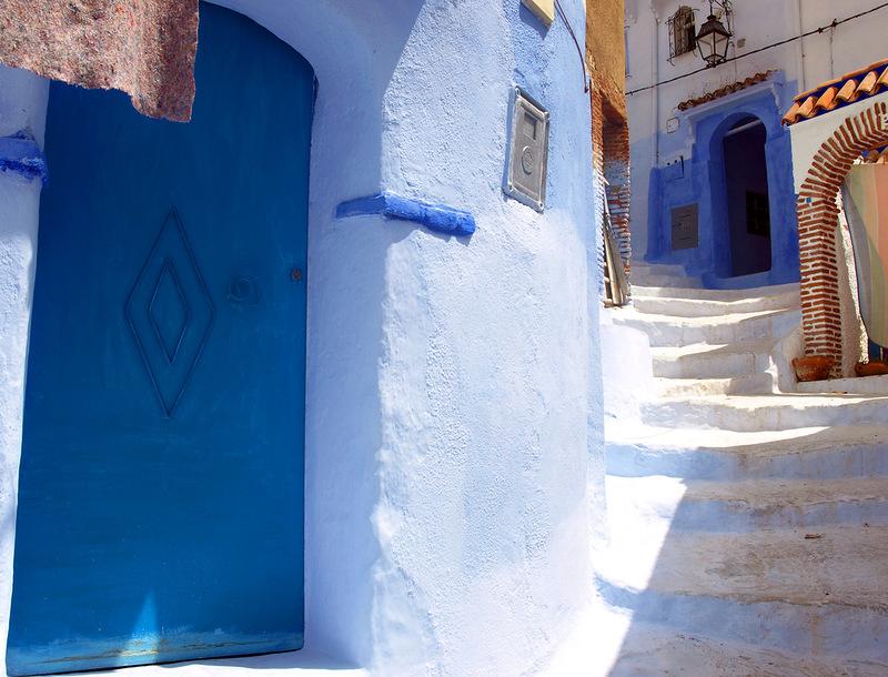 blue 9 Голубой город Шефшауен