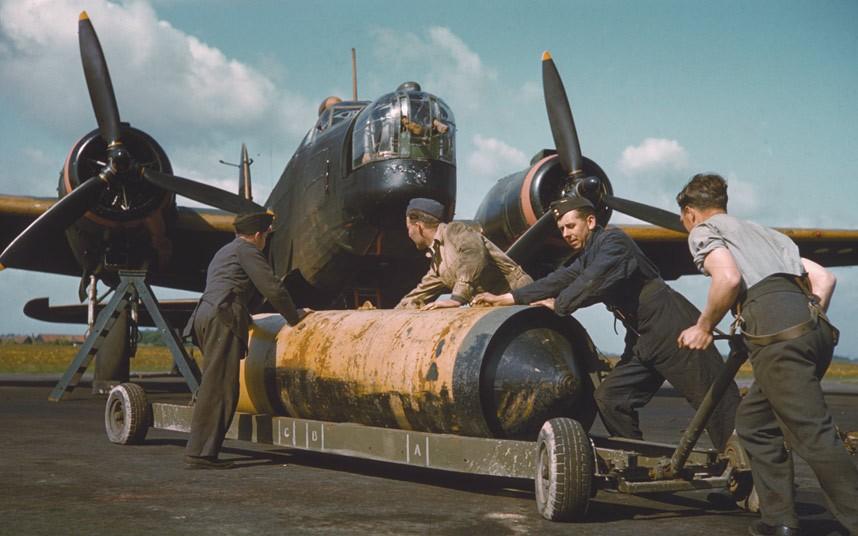bomber command06 Экипажи бомбардировщиков Королевских ВВС Великобритании времён Второй Мировой
