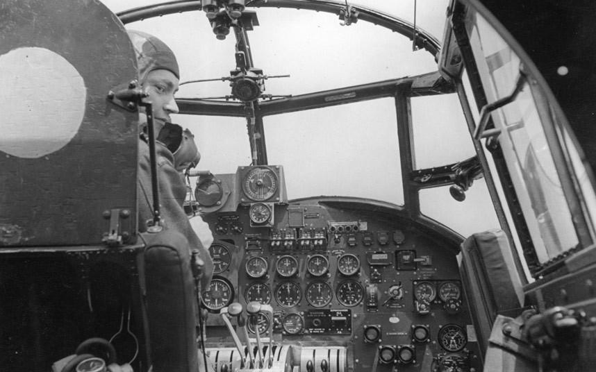 bomber command10 Экипажи бомбардировщиков Королевских ВВС Великобритании времён Второй Мировой