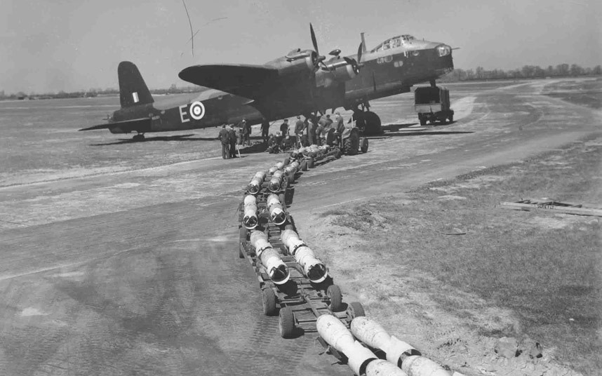 bomber command13 Экипажи бомбардировщиков Королевских ВВС Великобритании времён Второй Мировой