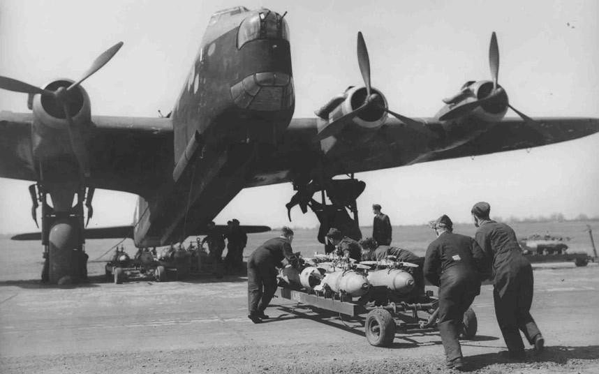 bomber command14 Экипажи бомбардировщиков Королевских ВВС Великобритании времён Второй Мировой