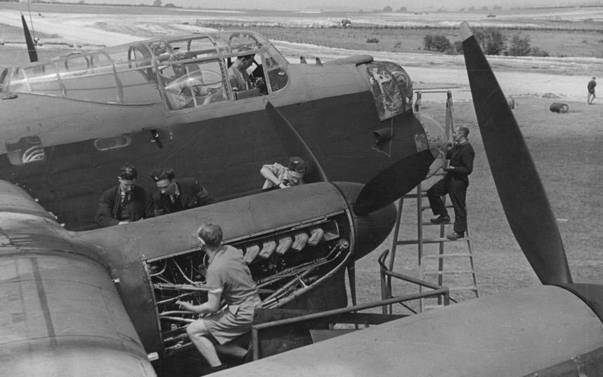 bomber command15 Экипажи бомбардировщиков Королевских ВВС Великобритании времён Второй Мировой