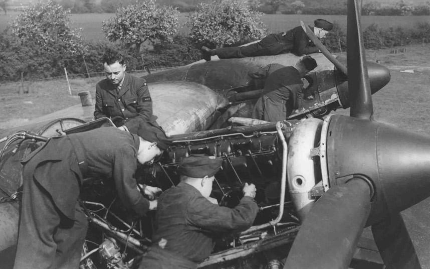 bomber command16 Экипажи бомбардировщиков Королевских ВВС Великобритании времён Второй Мировой