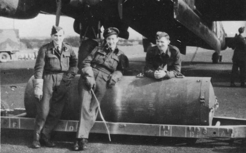 bomber command17 Экипажи бомбардировщиков Королевских ВВС Великобритании времён Второй Мировой