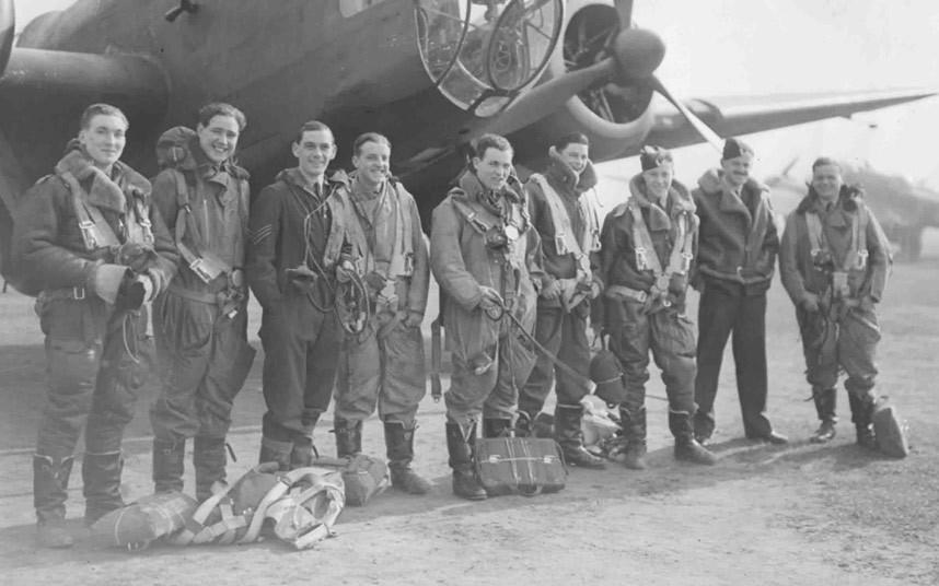 bomber command19 Экипажи бомбардировщиков Королевских ВВС Великобритании времён Второй Мировой