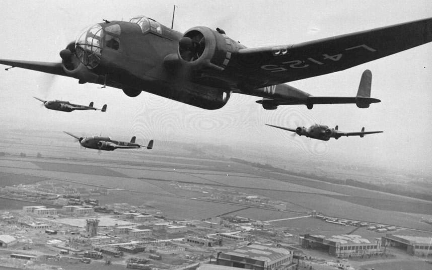 bomber command20 Экипажи бомбардировщиков Королевских ВВС Великобритании времён Второй Мировой