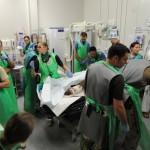 Военный госпиталь на британской базе Кэмп Бастион в Афганистане