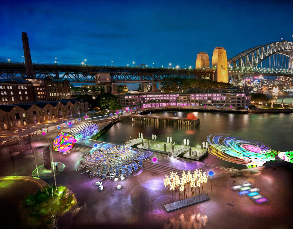 festivay Фестиваль света в Сиднее