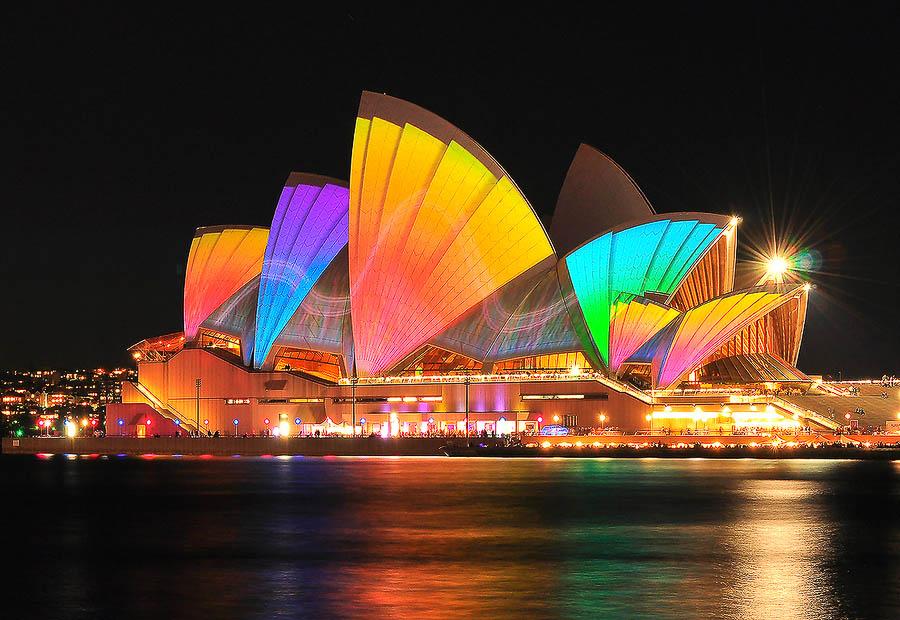 festivbH Фестиваль света в Сиднее