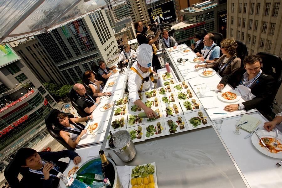 restaurant 14 Ресторан в облаках