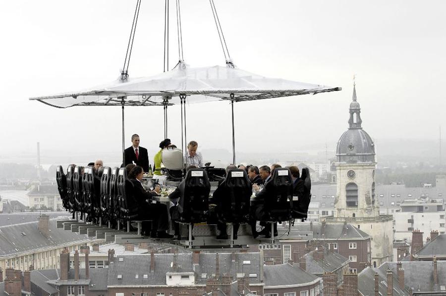 restaurant 3 Ресторан в облаках