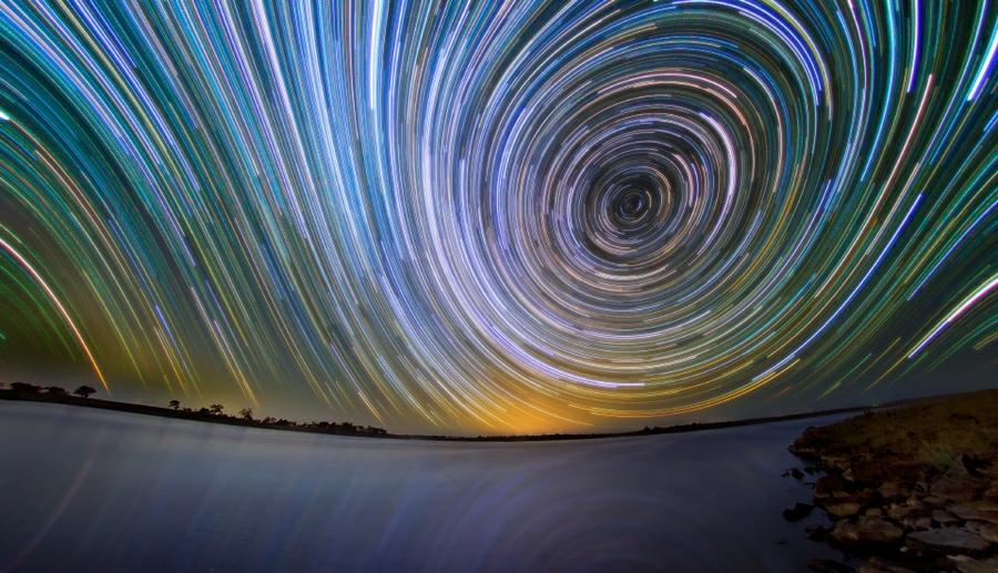 startrails02 Путешествия звёзд по ночному небу Австралии
