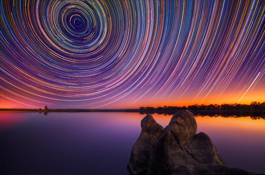 startrails03 Путешествия звёзд по ночному небу Австралии