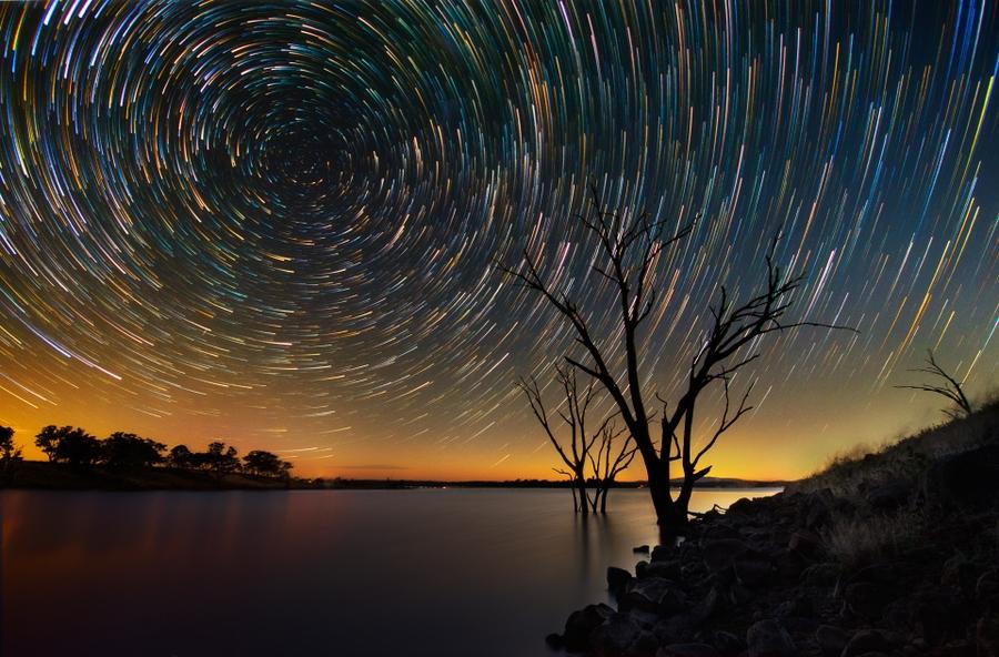 startrails04 Путешествия звёзд по ночному небу Австралии