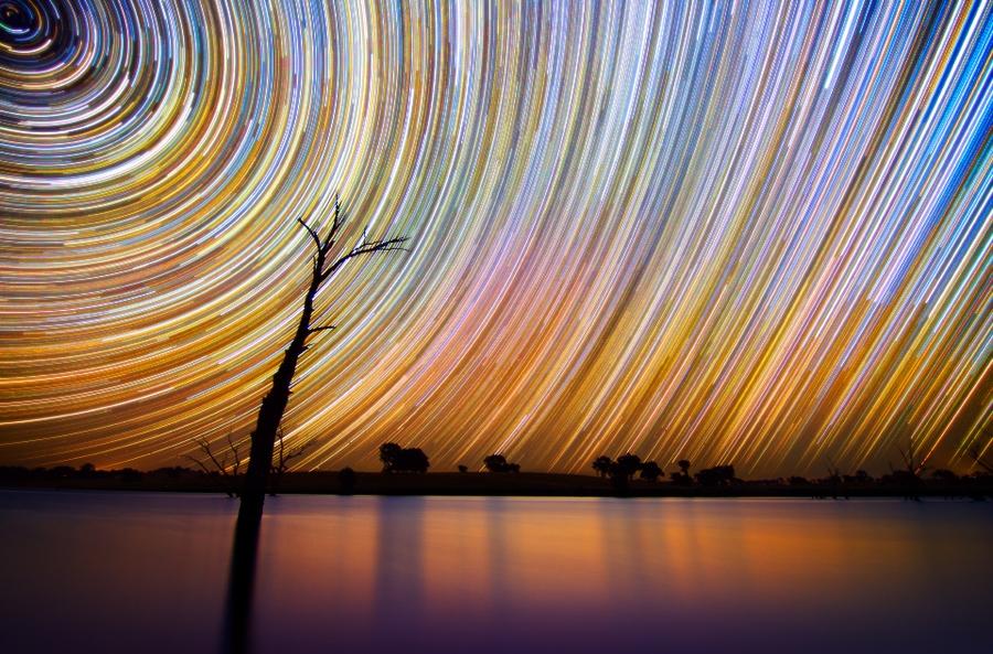 startrails05 Путешествия звёзд по ночному небу Австралии
