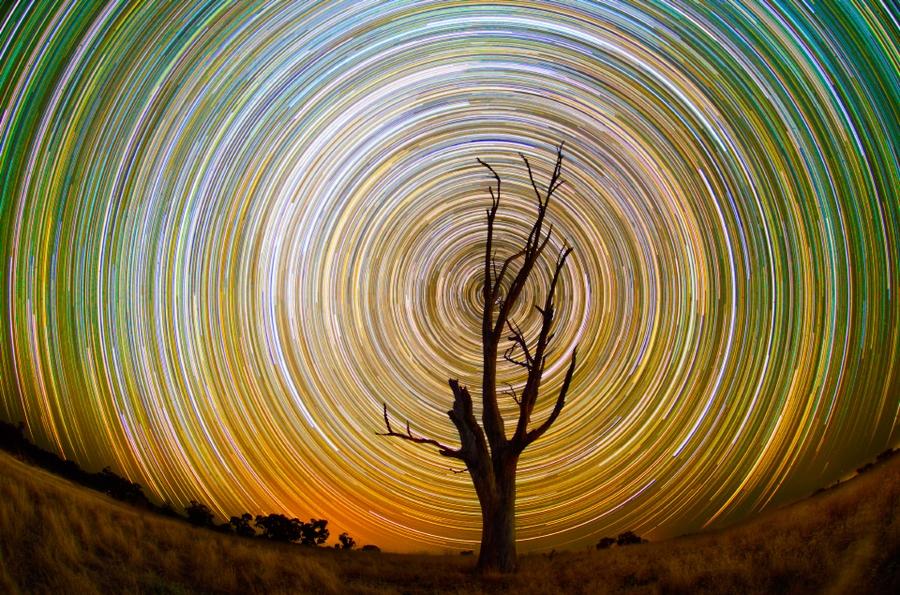 startrails06 Путешествия звёзд по ночному небу Австралии