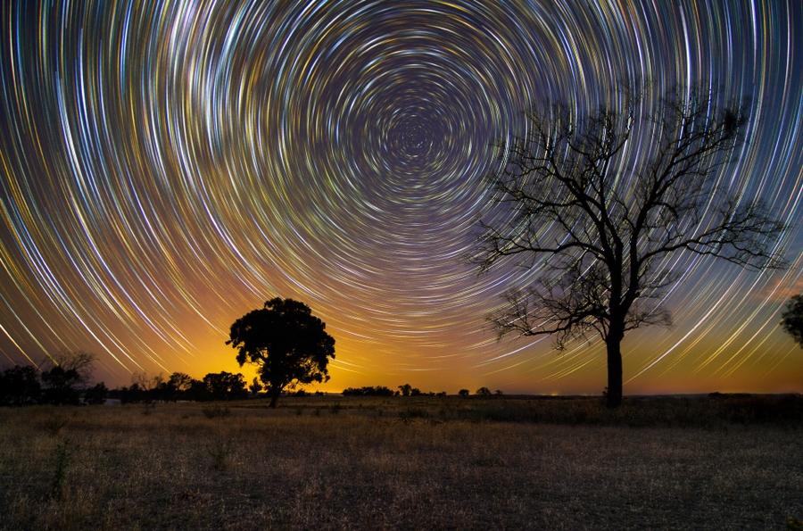 startrails08 Путешествия звёзд по ночному небу Австралии