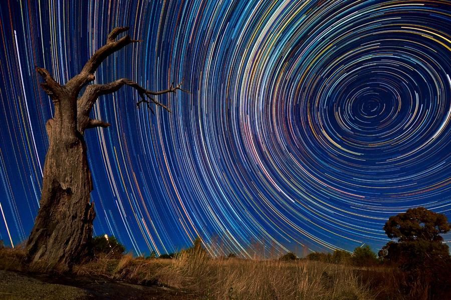 startrails11 Путешествия звёзд по ночному небу Австралии