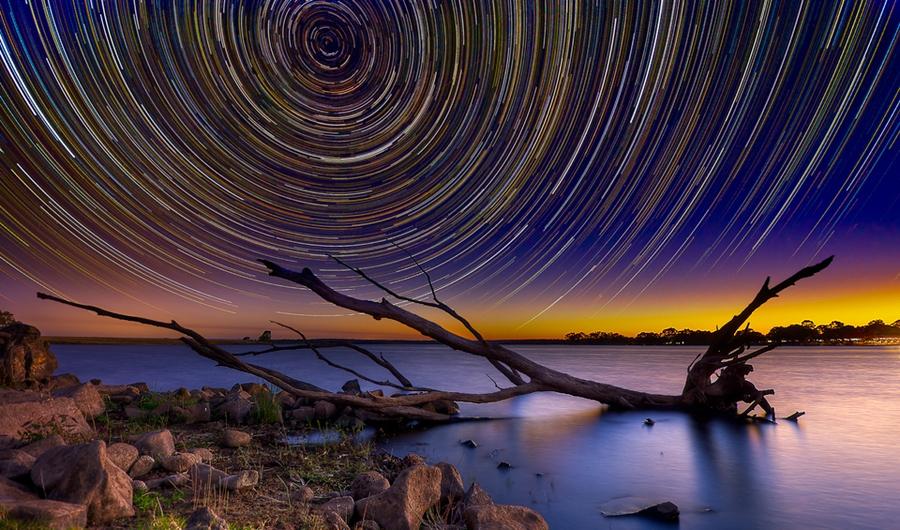 startrails13 Путешествия звёзд по ночному небу Австралии