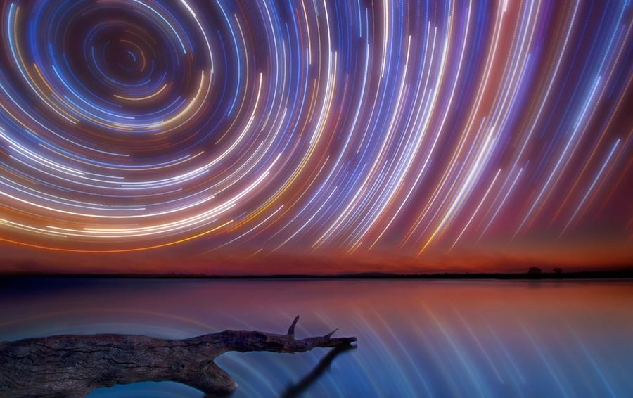 startrails15 Путешествия звёзд по ночному небу Австралии