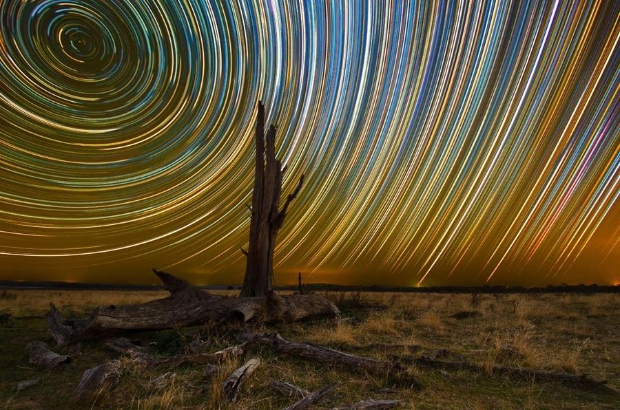 startrails18 Путешествия звёзд по ночному небу Австралии
