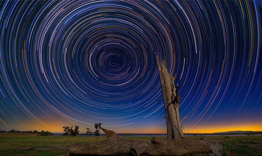 startrails19 Путешествия звёзд по ночному небу Австралии