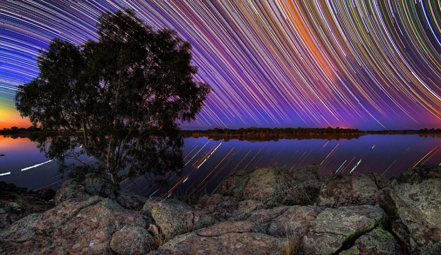 startrails20 Путешествия звёзд по ночному небу Австралии
